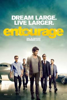 Entourage (2015) Original Movie Poster Double Sided Advance Style C