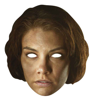 Maggie Greene The Walking Dead Single Card Party Face Mask
