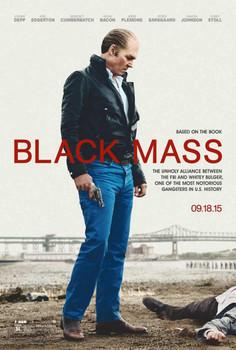 Black Mass Original Movie Poster Double Sided Advance