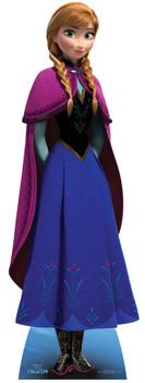 Anna from Frozen Disney Mini Cardboard Cutout / Standee