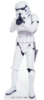 Stormtrooper Star Wars Mini Cardboard Cutout / Standee