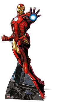 Iron Man Mini Cardboard Cutout / Standee / Standup - Marvel The Avengers Super Hero