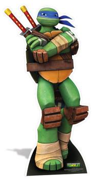 Leonardo Teenage Mutant Ninja Turtles Mini Cardboard Cutout / Standee / Standup - Nickelodeon Series
