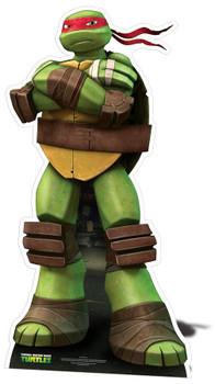 Raphael Teenage Mutant Ninja Turtles Mini Cardboard Cutout / Standee / Standup - Nickelodeon Series