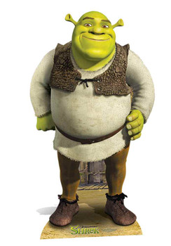 Shrek Mini Cardboard Cutout / Standee / Standup