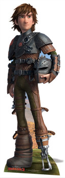 Hiccup from How To Train Your Dragon 2 Mini Cardboard Cutout / Standee / Standup