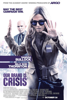 Our Brand is Crisis Original Movie Poster Double Sided Advance