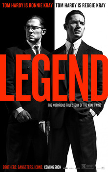 Legend Original Movie Poster Double Sided Advance