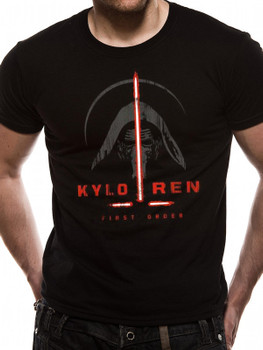 Star Wars: The Force Awakens Kylo Ren The First Order Official Unisex T-Shirt