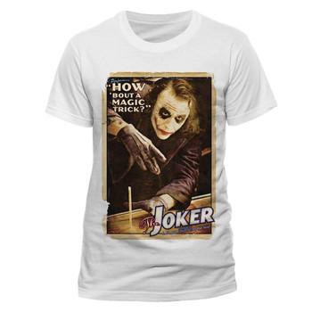 The Joker Heath Ledger Magic Trick Dark Knight Official Unisex T-Shirt