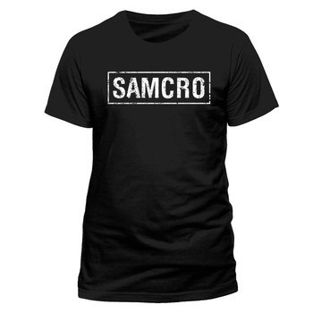 Sons Of Anarchy Samcro Banner Official Unisex Cotton T-Shirt