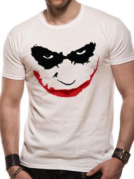 Batman The Dark Knight Joker Smile Logo Official Unisex T-Shirt