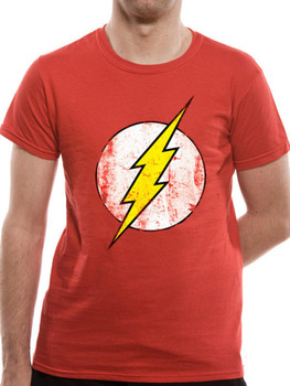 The Flash Logo DC Comics Official Unisex T-Shirt