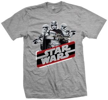 Captain Phasma Vintage Star Wars The Force Awakens Official Star Wars Unisex T-Shirt