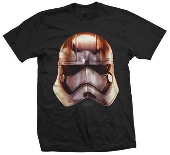 Captain Phasma Big Head Star Wars The Force Awakens Official Unisex T-Shirt