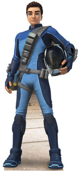 Scott Tracy Thunderbirds Are Go Cardboard Cutout