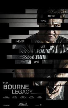 The Bourne Legacy double sided ADVANCE (2012) ORIGINAL CINEMA POSTER