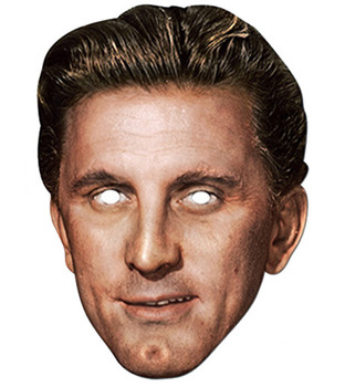 Kirk Douglas Celebrity Hollywood Card Party Face Mask