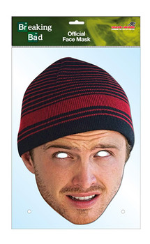 Jesse Pinkman Official Breaking Bad Card Party Face Mask
