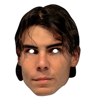 Rafael Nadal Celebrity Card Party Face Mask