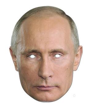 Vladmir Putin Russian President Card Party Face Mask