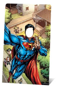 Superman Selfie Stand In Lifesize Cardboard Cutout