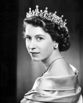 Queen Elizabeth II 90th Birthday Classic Portrait Photo