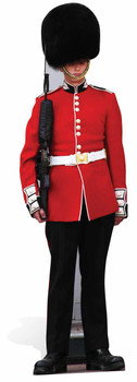 The Queen's Guard Royal Family Guardsman Lifesize Cardboard Cutout