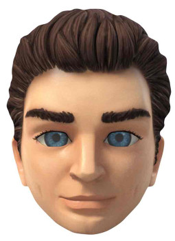 Scott Tracy Thunderbirds Are Go Single Card Party Face Mask
