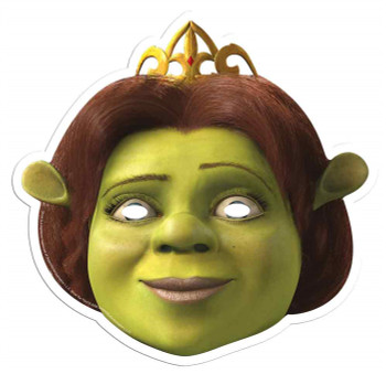 Princess Fiona from Shrek Single Card Party Face Mask