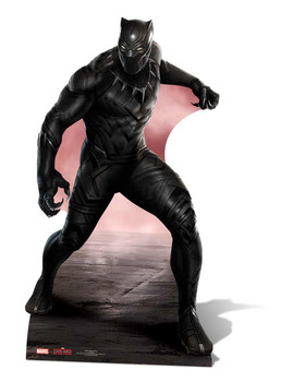 Black Panther Marvel Lifesize Cardboard Cutout