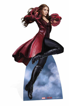 Scarlet Witch Marvel Lifesize Cardboard Cutout