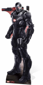 War Machine Marvel Lifesize Cardboard Cutout