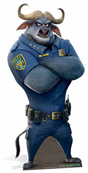 Chief Bogo Zootropolis Lifesize Cardboard Cutout / Standee / Standup