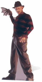Freddy Krueger A Nightmare on Elm Street Cardboard Cutout / Standee / Stand Up
