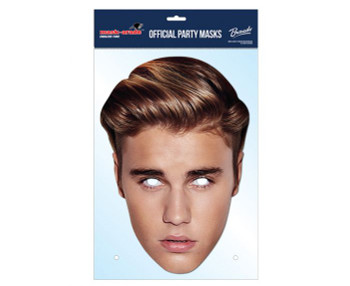 Justin Bieber 2016 Official Single 2D Card Party Face Mask