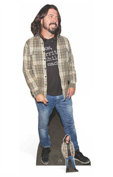 Dave Grohl Cardboard Cutout