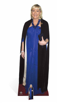 Marine Le Pen Lifesize Cardboard Cutout / Standee / Stand Up