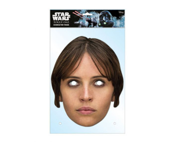 Jyn Erso Rogue One: A Star Wars Story Single 2D Card Party Face Mask