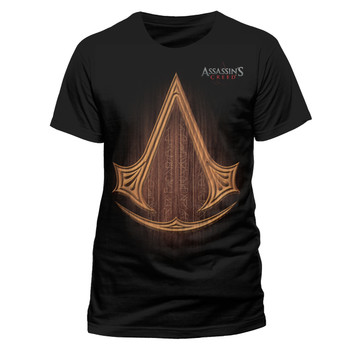 Assassin's Creed Movie Logo Official Unisex Black T-Shirt