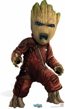 Baby Groot Guardians of The Galaxy Vol 2 Cardboard Cutout / Standee / Stand Up