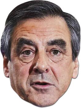 Francois Fillon French Politician 2D Card Party Face Mask