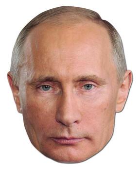 Vladimir Putin Russian President Politician Card Party Face Mask