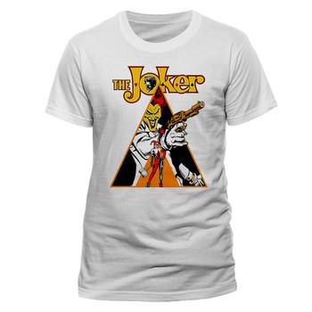 The Joker Clockwork Orange Style Official Unisex White T-Shirt