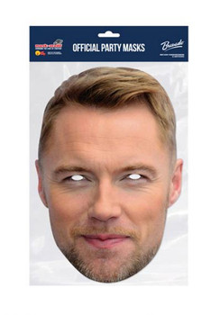 Ronan Keating Celebrity Single 2D Card Party Face Mask