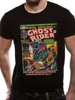 Ghost Rider Marvel Comics Black Unisex T-Shirt