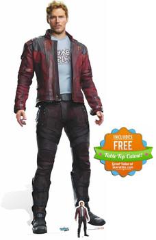 Star-Lord Peter Quill Guardians of The Galaxy Vol. 2 Mini Cardboard Cutout