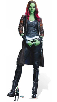 Gamora Guardians of The Galaxy Vol. 2 Mini Cardboard Cutout