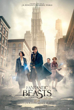 Fantastic Beasts and Where to Find Them Original Movie Poster Double Sided - Final Style