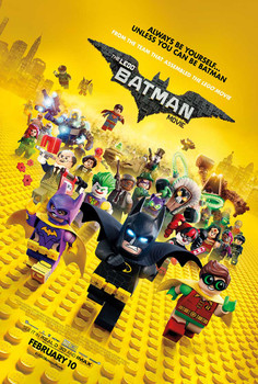 The Lego Batman Movie Original Movie Poster – Cast Final Style